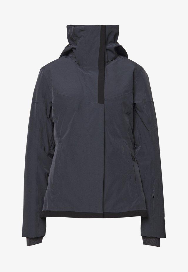 SPEED JACKET - Ski jacket - ebony/black