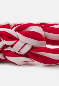 Becksöndergaard - STRIPED HAIRBAND - Hair Styling Accessory - fiery red - 2