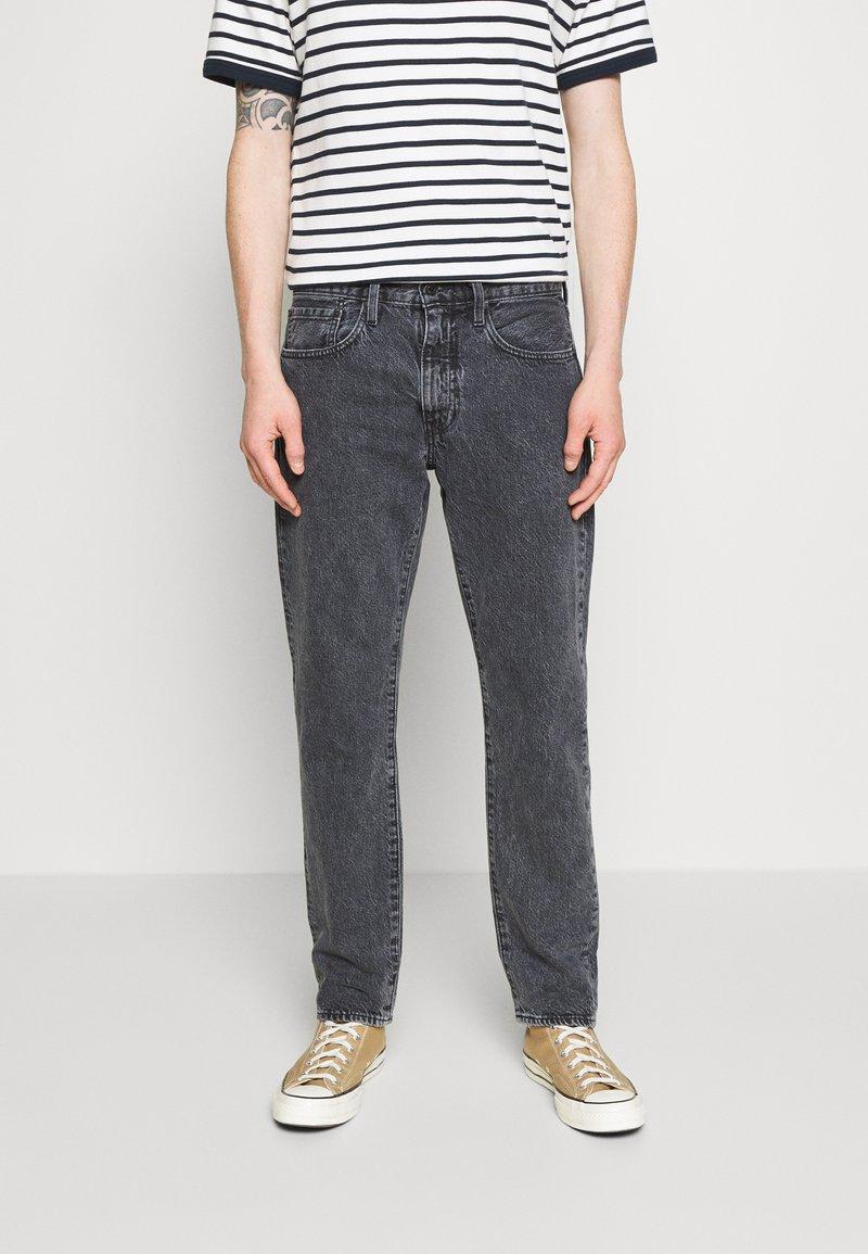 Levi's® - WELLTHREAD 502™ - Straight leg jeans - black denim