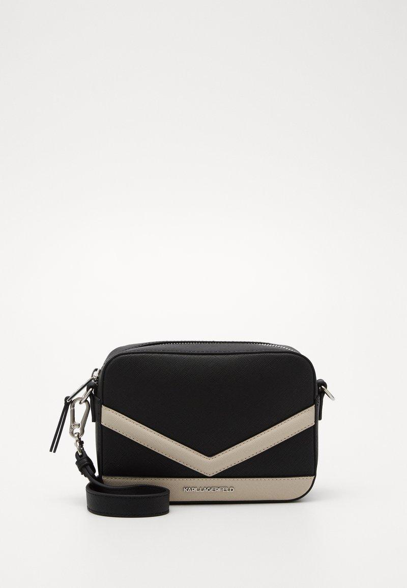KARL LAGERFELD - MAU CAMERA BAG - Across body bag - black