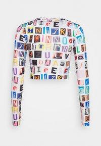 Topshop - ALPHABET - Maglietta a manica lunga - multi - 1