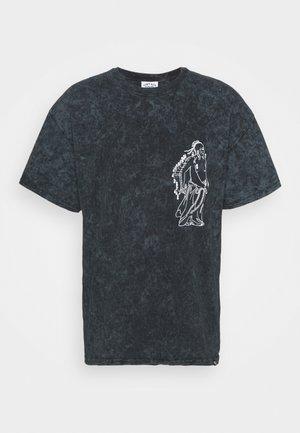 ENCRYPTION GRAPHIC TEEOD - Print T-shirt - grey