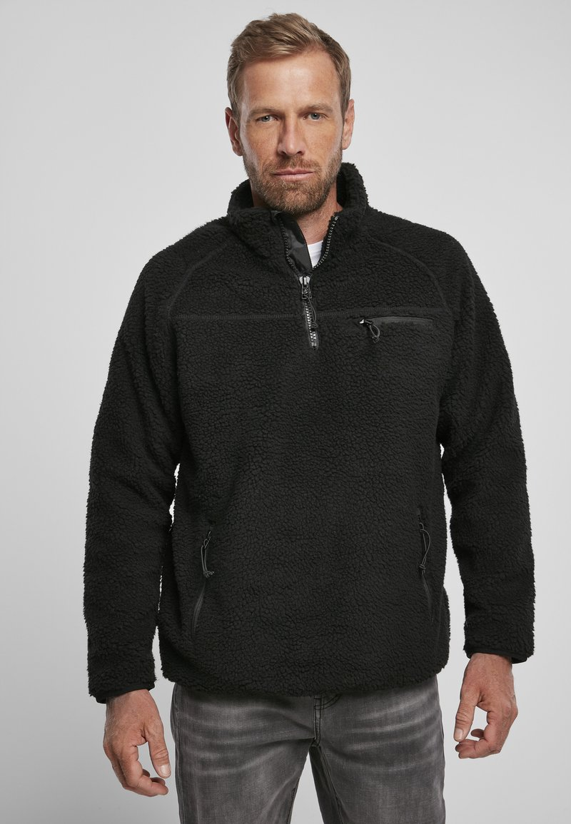 Brandit - Fleece jumper - black