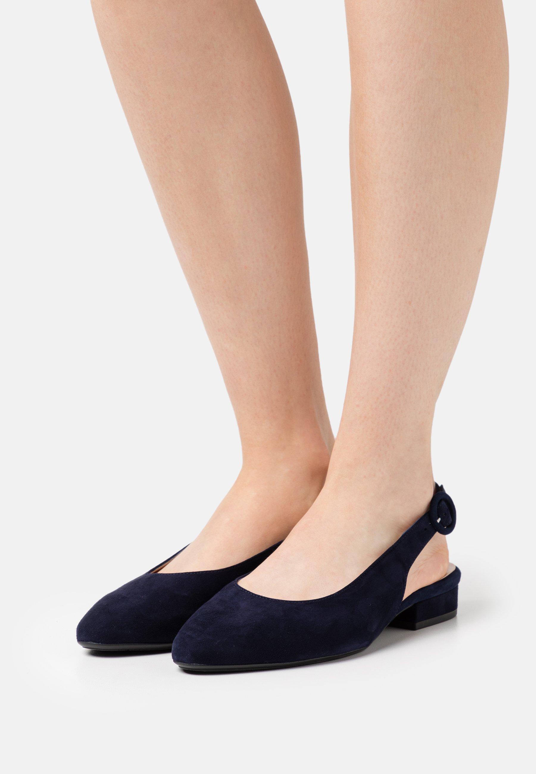 Women FASELLE - Slingback ballet pumps - notte