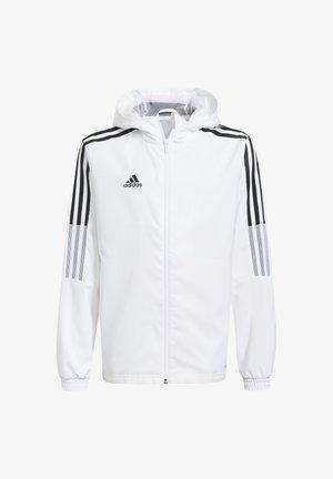 Training jacket - weiss