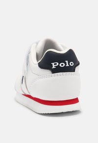 Polo Ralph Lauren - PONY JOGGER UNISEX - Trainers - white smooth / navy - 4