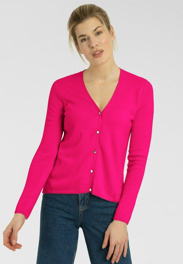 Cardigan - bubble pink