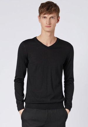 MELBA - Jumper - black