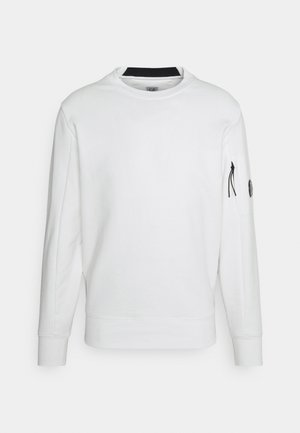 CREW NECK - Sweater - gauze white