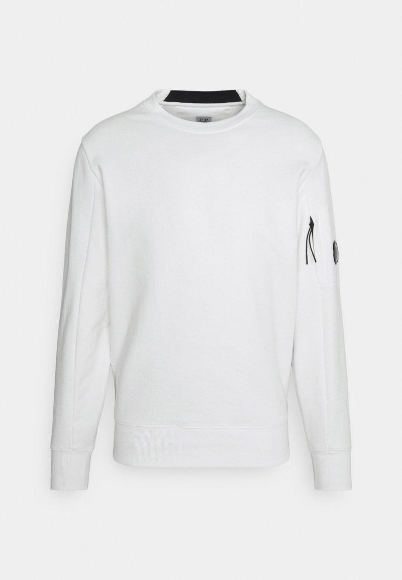 C.P. Company - CREW NECK - Sweatshirt - gauze white
