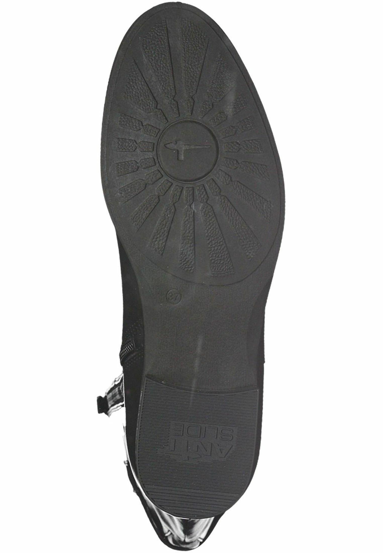 Tamaris Stiefel black leather/schwarz