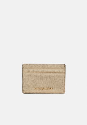JET SETCARD HOLDER - Geldbörse - pale gold
