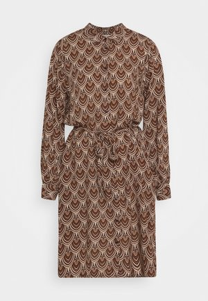 FQSARI - Shirt dress - caramel cafe