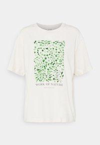 Monki - TOVI TEE - T-shirts med print - white dusty light - 4