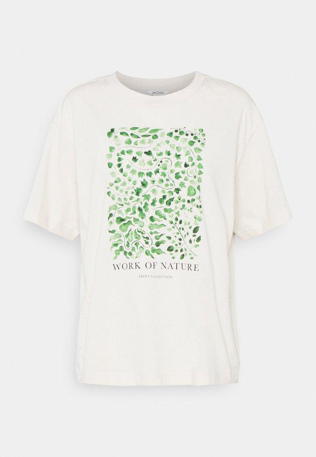 TOVI TEE - T-shirt imprimé - white dusty light