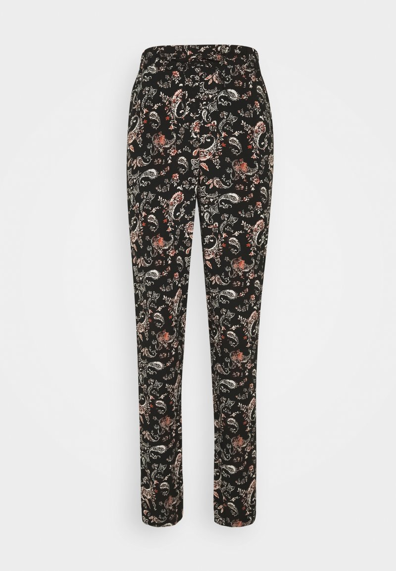 Vero Moda Tall - VMSIMPLY EASY LOOSE PANT  - Trousers - black