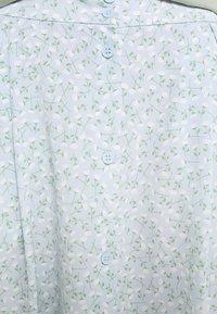 Monki - SIGRID BUTTON SKIRT - A-line skirt - blue dusty light - 4