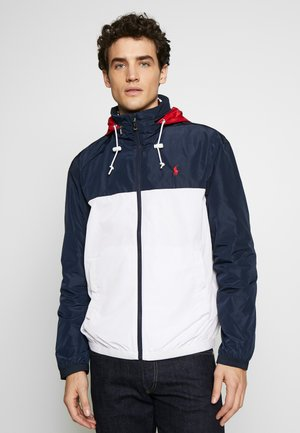 AMHERST FULL ZIP JACKET - Cortaviento - aviator navy/pur