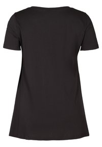 Zizzi - Print T-shirt - black - 3