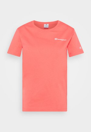 CREWNECK - T-shirts - coral