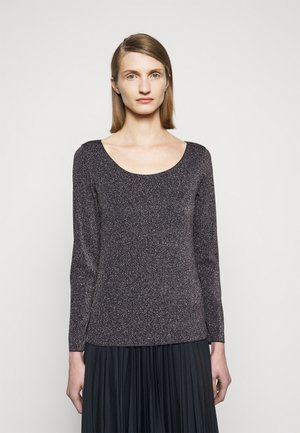 ORIGANO - Long sleeved top - blau