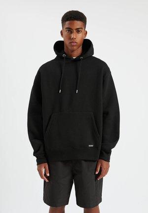 Hættetrøjer - mottled black