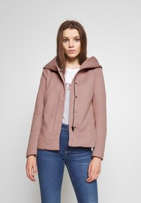 ONLY - ONLSEDONA LIGHT SHORT JACKET - Lehká bunda - mocha mousse/melange - 0