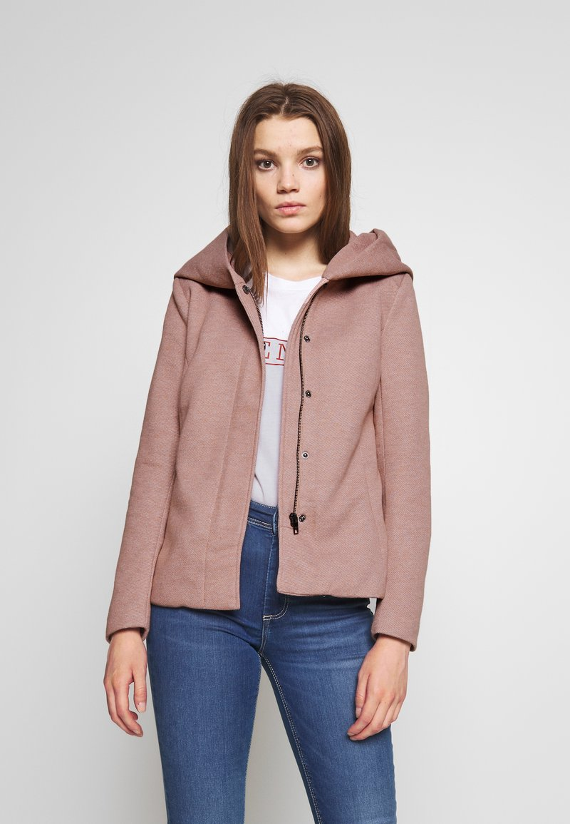 ONLY - ONLSEDONA LIGHT SHORT JACKET - Korte jassen - mocha mousse/melange