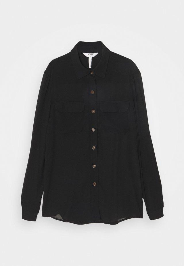 OBJCAMISA - Bluse - black