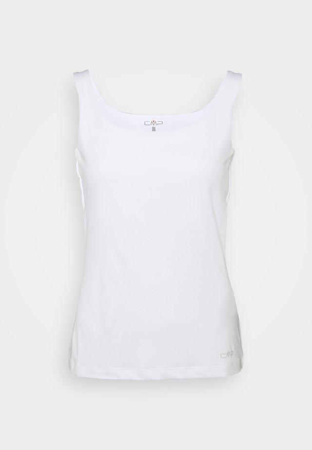 WOMAN DOUBLE - Sportshirt - bianco