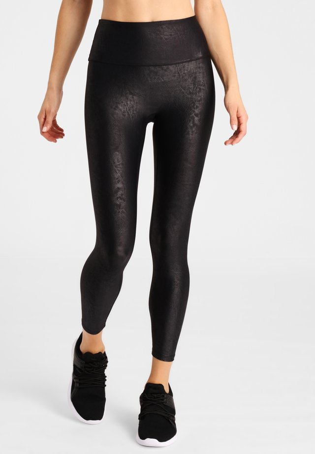 LEGGINGS MAXIME CROP LEGGINGS - Leggings - anthracite