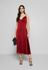 Filippa K - CALLIE DRESS - Koktejlové šaty/ šaty na párty - pure red - 1