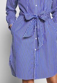Polo Ralph Lauren - Vestido camisero - blue/white - 5