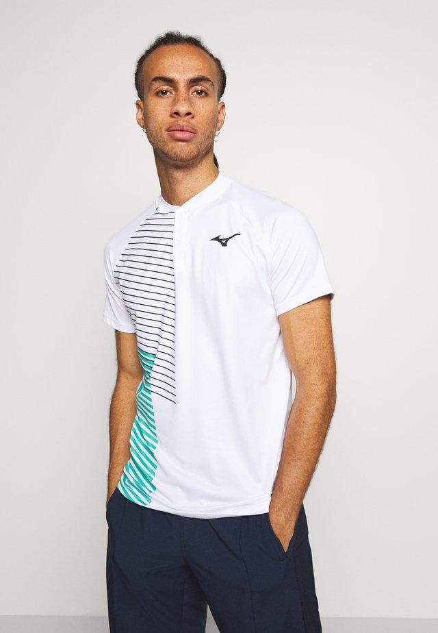 SHADOW - T-shirt print - white