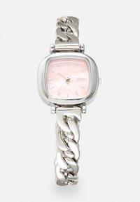 Komono - MONEYPENNY REVOLT - Horloge - silver-coloured/blush - 0
