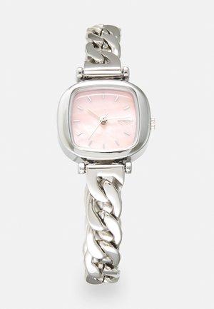 MONEYPENNY REVOLT - Klocka - silver-coloured/blush