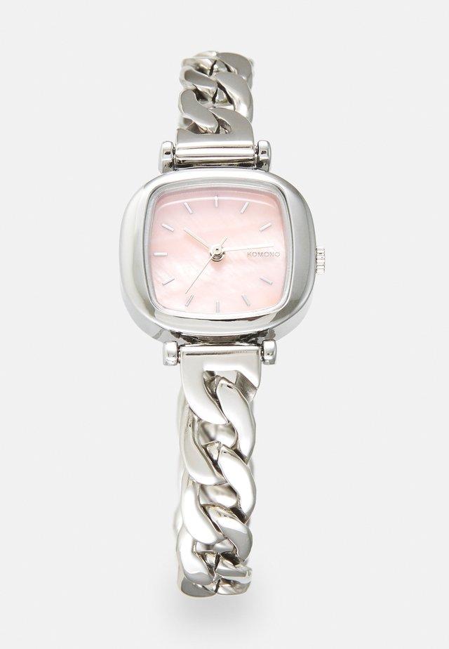 MONEYPENNY REVOLT - Hodinky - silver-coloured/blush