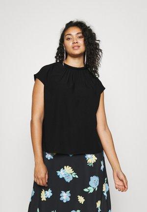 VMPAIGE CAP SLEEVE - Print T-shirt - black