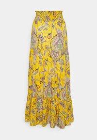 Desigual - FLORENCIA - Maxi skirt - yellow - 6