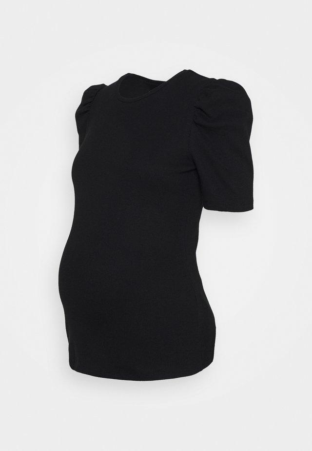 PCMANNA - T-shirt basic - black