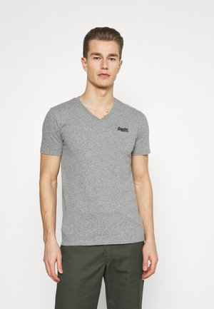 CLASSIC TEE - Basic T-shirt - grey marl