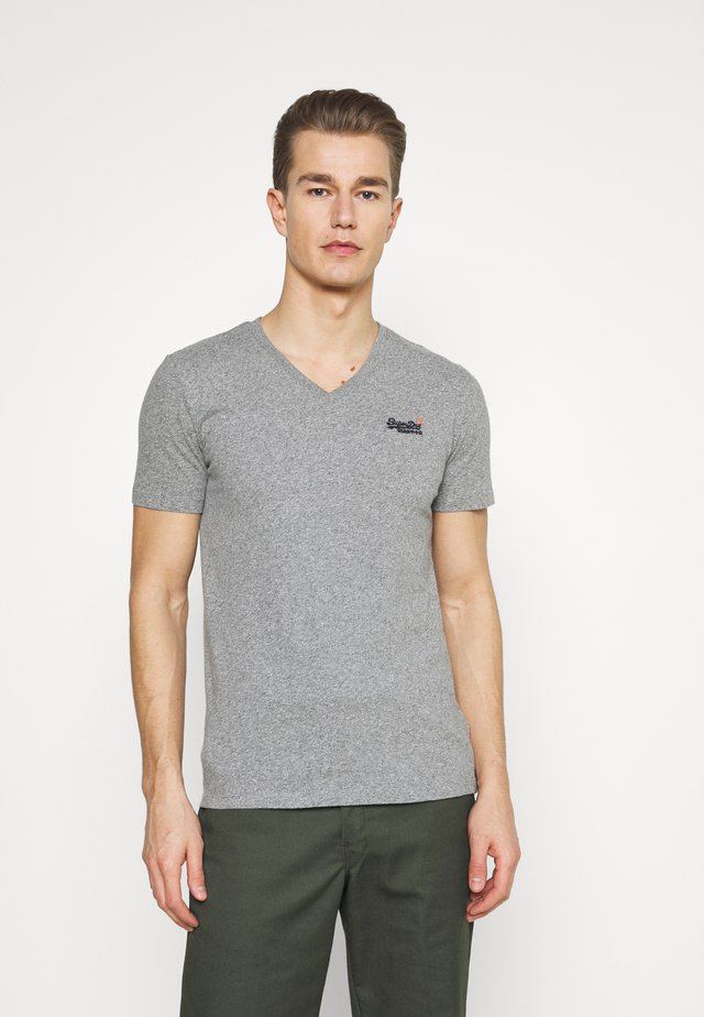 CLASSIC TEE - T-shirt basic - grey marl