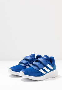 adidas Performance - TENSAUR RUN UNISEX - Chaussures de running neutres - royal blue/footwear white/bright cyan - 3