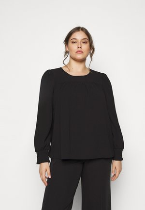 VMAYA SMOCK - Blouse - black