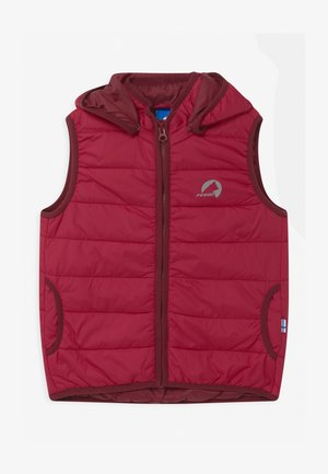 VANULI UNISEX - Bodywarmer - persian red