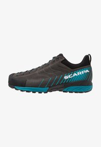 Scarpa - MESCALITO GTX - Hiking shoes - shark/lakeblue - 0