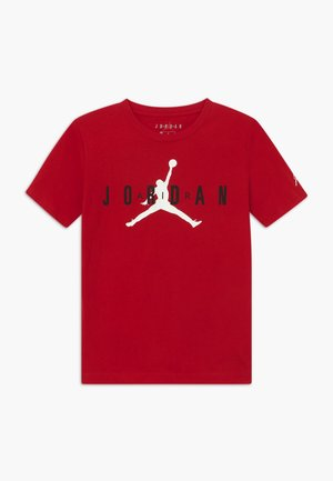 BRAND TEE - Print T-shirt - gym red