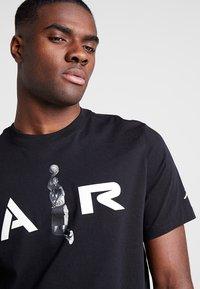 Jordan - TEE AIR  - Print T-shirt - black - 4