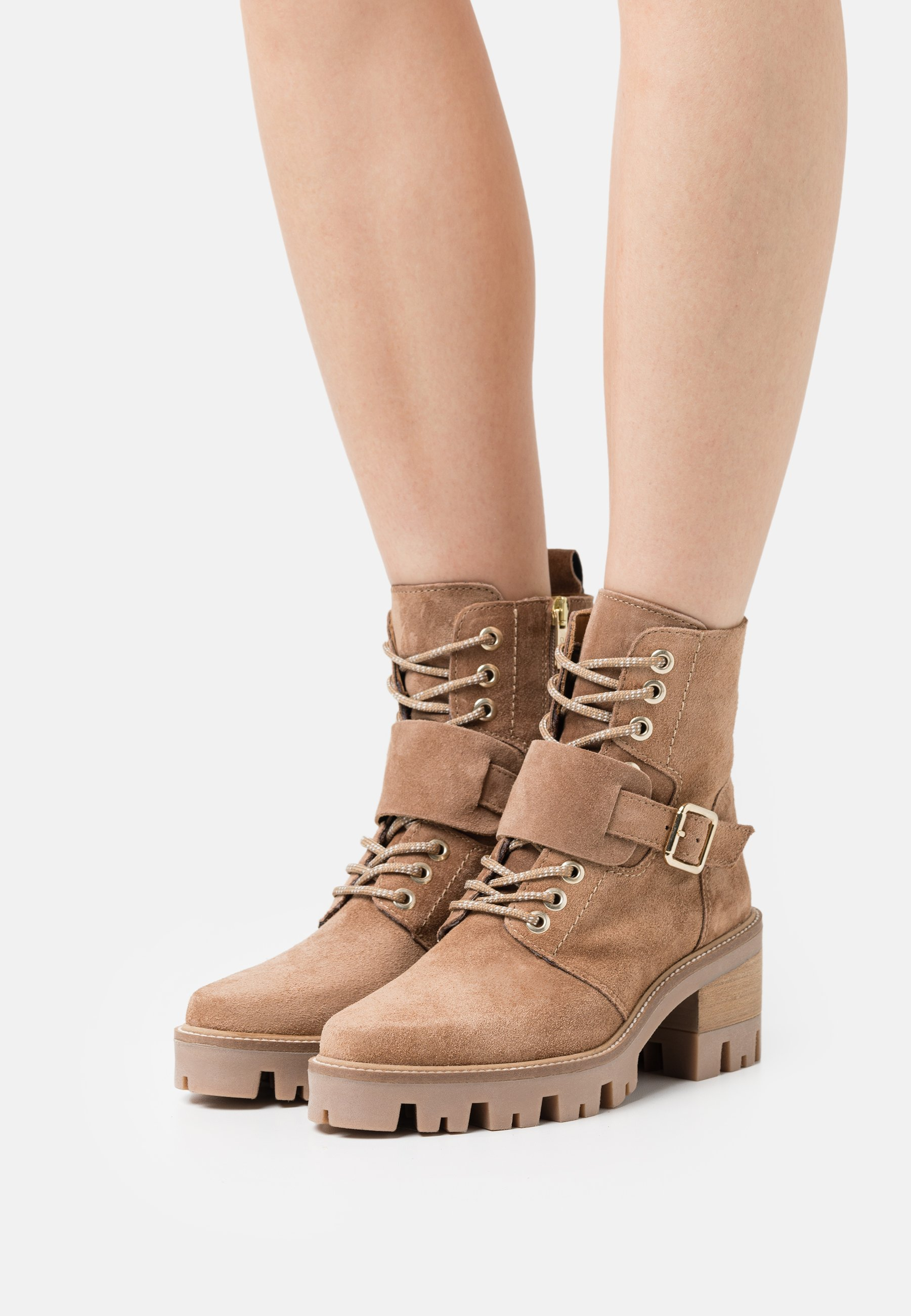 Women AMELI - Lace-up ankle boots