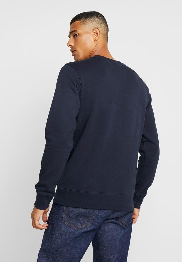Calvin Klein Jeans ICONIC MONOGRAM CREWNECK - Bluza - night sky/granatowy Odzież Męska XPQZ